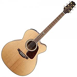 Takamine GJ72CE NAT Jumbo Cutaway Acoustic Electric Guitar   Natural available at Amazon for Rs.76732