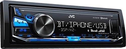 JVC x341bt Digital Media Receiver con funzione vivavoce e bluetooth per streaming audio nero