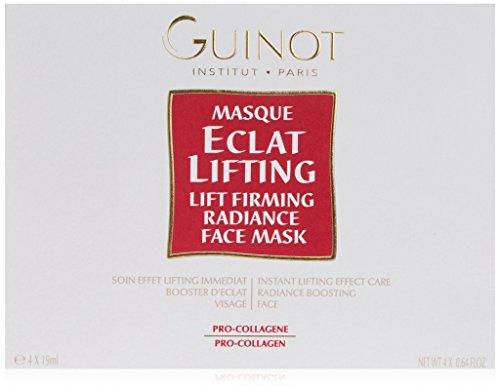 Guinot Masque Eclat Lifting Lift Firming Radiance Maschera Facciale -Confezione da 4 x - 19 ml