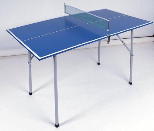 Bandito Tischtennisplatte Mini, blau, 136 x 75 cm