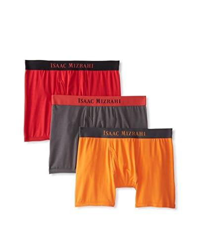 Isaac Mizrahi Men's Boxer Brief - 3 Pack
