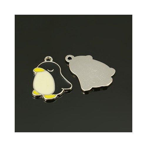 pacco-5-x-nero-bianco-lega-dello-smalto-22mm-ciondoli-pendente-pinguino