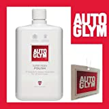 Autoglym Super Resin Polish 1Ltr & free Hanging Air freshener