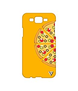 Vogueshell Pizza Slices Printed Symmetry PRO Series Hard Back Case for Samsung Galaxy J7
