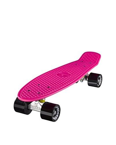 Ridge Skateboards Skateboard Original 22 Mini Cruiser Fucsia/Nero
