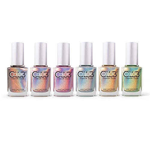 Color-Club-Halo-Hues-Collection-Holographic-Nail-Lacquer-Set-of-6-Colors
