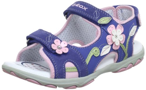 Geox J SAND.CUORE A Sandals Girls blue Blau (AVIO C4005) Size: 38/5 UK