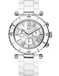 GUESS Gc DIVER CHIC White Ceramic Chronograph
