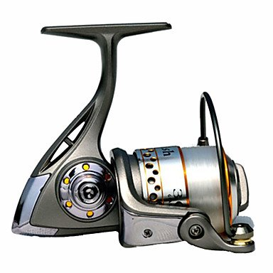 QHY Gray 0.15-180(mm/m) 9+1BB Fishing Spinning Reels 1000 orange saltwater spinning fishing reels with high carbon
