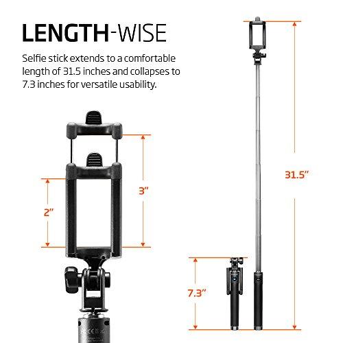selfie stick spigen new generation bluetooth selfie stick with remo. Black Bedroom Furniture Sets. Home Design Ideas