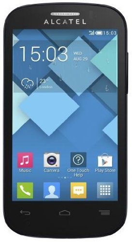 Alcatel One Touch Pop C3 Smartphone, Dual SIM, 4 GB, Nero [Italia]