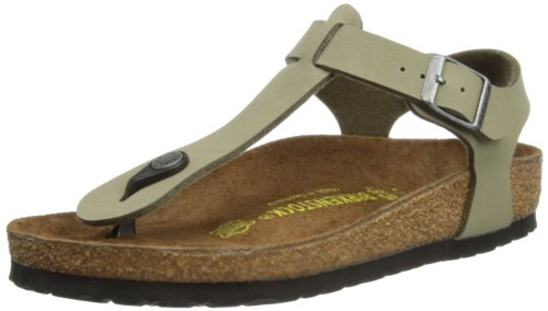 Birkenstock Kairo Womens Khaki Birko-Flor Thongs 40 Eu (7-7.5 R Us Men/9-9.5 R Us Women) back-1056207