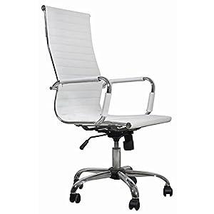 Sedia poltrona ufficio e casa bianca poltroncina for Amazon sedie ufficio