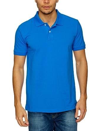 Esprit MCAS - Polo - Homme - Bleu (Crown Blue) - FR : L (Taille fabricant : L)