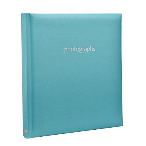Arpan Album per foto rilegato, colore: Blu pastello, per 120 foto 5 x 7