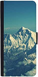 Snoogg Swiss Alps Beautydesigner Protective Flip Case Cover For Sony Xperia Z...