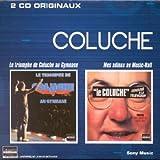 Coffret 2 CD : Le Triomphe de Coluche au Gymnase / Les Adieux au Music-Hall