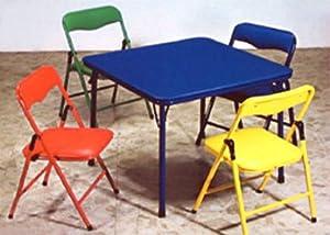 Amazon Com Children S Folding Table Amp Folding Chairs