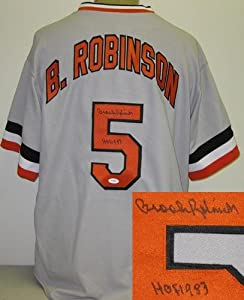 Brooks Robinson Autographed Baltimore Orioles Jersey by Radtke+Sports