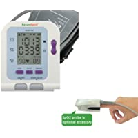 Advanced Up-Arm Blood Pressure Heart Rate Monitor With USB Port Data Analysis Software