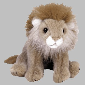 TY Classic Plush - SAHARA the Lion