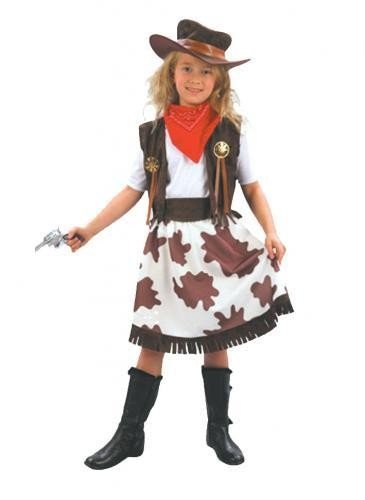 childs-wild-west-cowgirl-girls-fancy-dress-costume-outfit-age-9-12