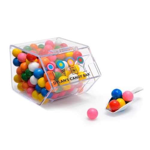 Dylan's Candy Bar Mini Bin filled with Mini Gumballs