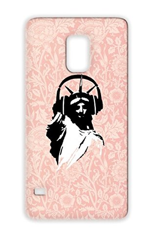 Tpu White Shock Absorption Protective Hard Case For Sumsang Galaxy S5 Dj Statue Of Liberty Headphone Earphone Party Club Usa Miscellaneous Music New York Lady America United States Amerika Deejay Dee Jay Lady Liberty With Headphone Close