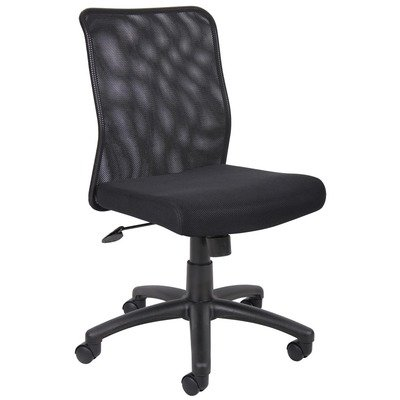 Boss Office Products B6105 Armless Budget Mesh