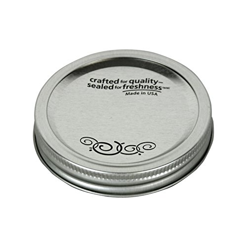 Kerr 00087 12 Count Wide Mouth Canning Jar Caps