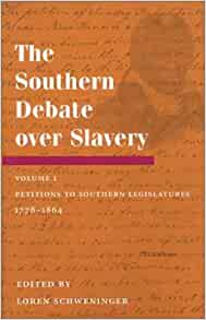 The debate about Slavery