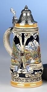 King-Werks Garmisch Linderhof Oberammergau German Beer Stein by King-Werks
