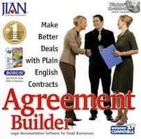 BRAND NEW Jian Agreement Builder Advertising Cooperative Bailment Bylaws Commercial Lease Credit