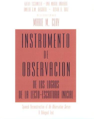 Instrumento de observacion de los logros de la...