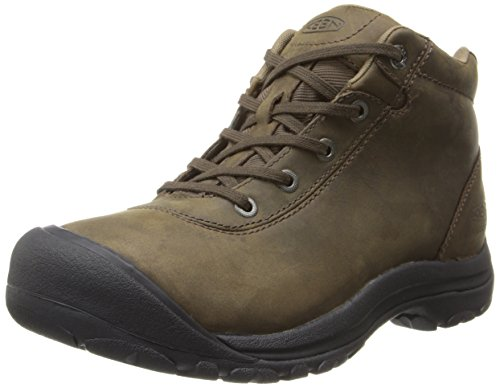 KEEN Men's Briggs Mid WP Chukka Boot,Cascade Brown,14 M US