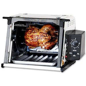 Ronco 3000 Showtime Compact Rotisserie, Stainless Steel
