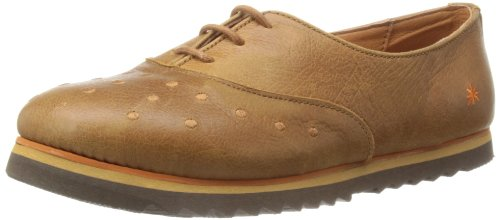 Art Womens Bremen-51 Caramel Lace-Up Flats 8 UK, 41 EU