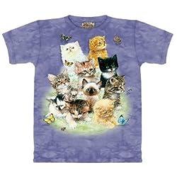 The Mountain T-Shirt 10 Kittens Tee