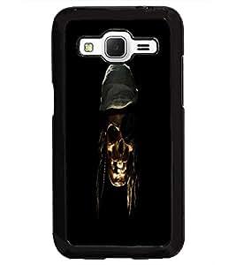PrintDhaba Pirate's Skull D-1181 Back Case Cover for SAMSUNG GALAXY CORE PRIME (Multi-Coloured)
