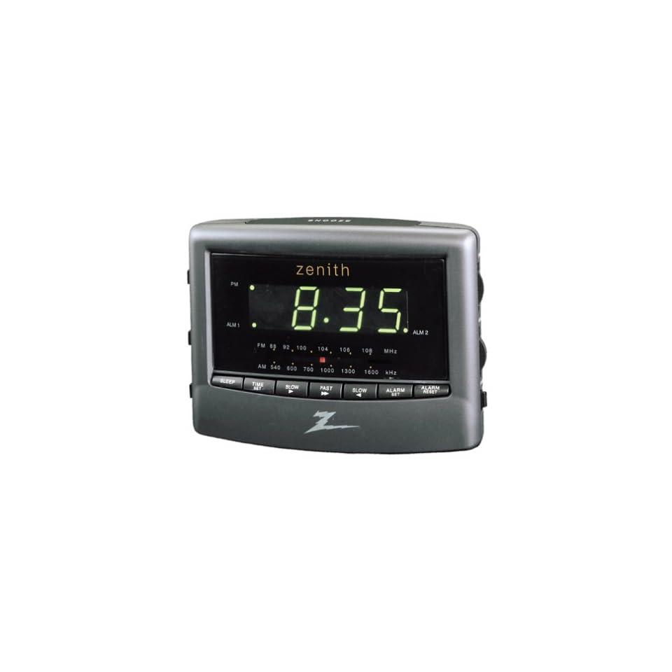 Zenith Z124B Dual Alarm Clock Radio (Discontinued by Manufacturer)