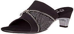 Onex Women\'s Lizzy Dress Sandal, Black, 6 M US