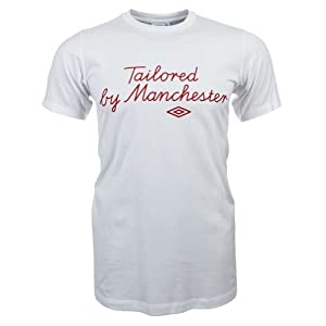England Herren T-Shirt Taylored by Manchester Nr. 10 Umbro 71965U