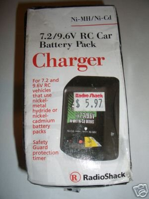 Radioshack R/C Car Battery Pack Charger 7.2 9.6 RC 23-333