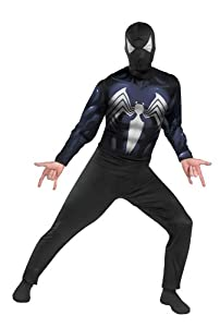 Disguise Men's The Amazing Spider-Man -Suited Spider-Man Adult Costume from Disguise Inc