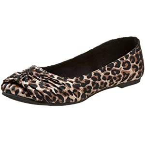 vegan zebra ballet flats