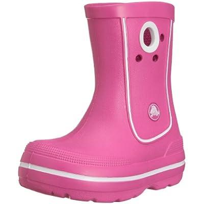 Pink Crocs Junior/Youth Kids Crocband Jaunt Wellies