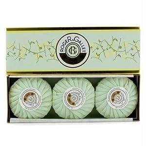 Roger & Gallet Green Tea (The Vert) Perfumed Soap Coffret - 3x100g/3.5oz