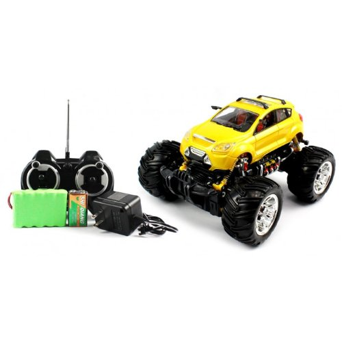 Big Size Electric Full Function 1:16 Cross Country Concept Monster RTR RC Truck Remote Control High Quality Truck (Colors May Vary)
