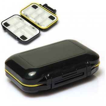 Fly Fishing Lures Hook Box Waterproof 12 Compartments Fish Tackle Accesory, Model: , Electronic Store (Fly Accesories compare prices)