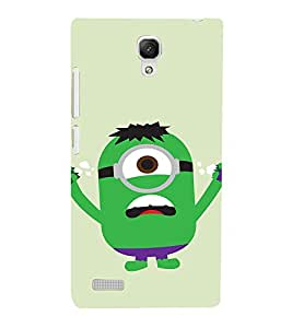 EPICCASE Superhero Minion Mobile Back Case Cover For Xiaomi Redmi Note Prime (Designer Case)